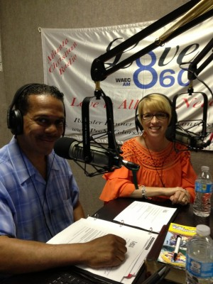 "Cleve Clarke of LOVE 860 AM, ""Can I Tell You the Truth"" and Susan Norris."